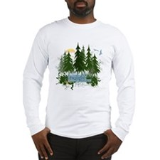 Twilight Forks WA Long Sleeve T-Shirt