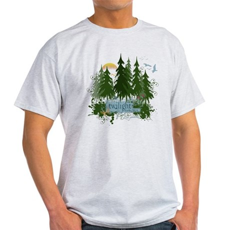 Twilight Forks WA Light T-Shirt