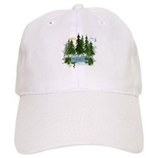 Twilight Forks WA Baseball Cap