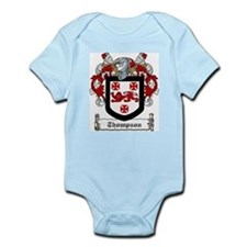 Irish Thompson Family Crest Infant Creeper