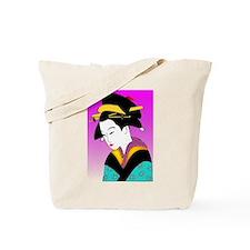 Unique Geisha Tote Bag