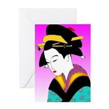 Unique Asian Greeting Card