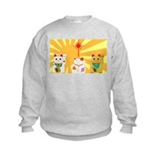 Lucky Cats Sweatshirt