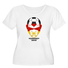 Cute Germany soccer 2010 T-Shirt