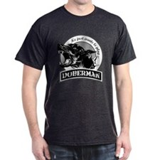 Doberman black/white T-Shirt