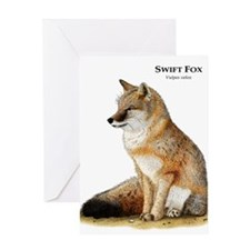 Swift Fox Greeting Card