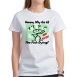 Mommy, Why are all the fish dying? Women's T-Shirt
