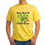 Mommy, Why are all the fish dying? Yellow T-Shirt
