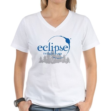 Twilight Eclipse Women's V-Neck T-Shirt