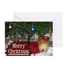 Funny Christmas Corgi Greeting Cards (Pk of 20)