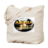 Aruba One Happy Island Tote Bag