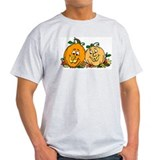 Happy Pumpkins Ash Grey T-Shirt
