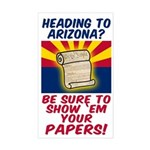 Show Arizona Your Papers Bumper Sticker
