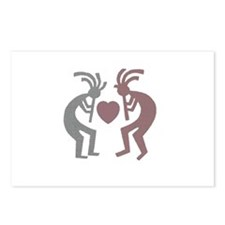 Kokopelli Valentine Postcards (Package of 8)