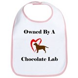 Owned by a Chocolate Labrador Bib
