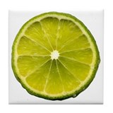 Lime Tile Coaster
