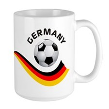 Soccer GERMANY Ball Mug