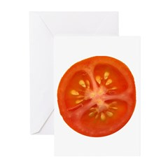 Grape Tomato Greeting Cards (Pk of 10)