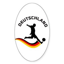 Soccer DEUTSCHLAND Player Decal