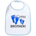 Little Brother Baby Footprint Bib
