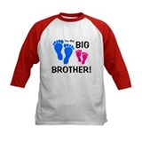 Big Brother Baby Footprints Tee