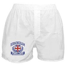 Birmingham England Boxer Shorts