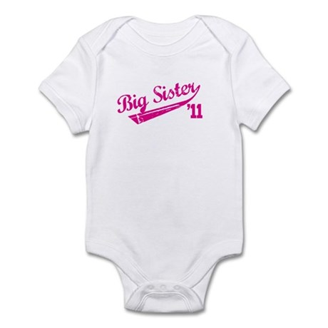 big sister t-shirts '11 Infant Bodysuit