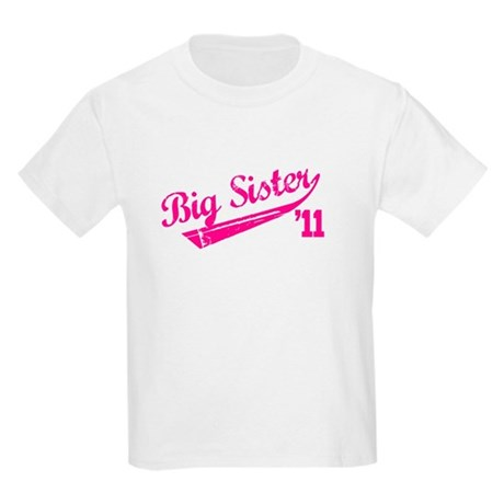 big sister t-shirts '11 Kids Light T-Shirt