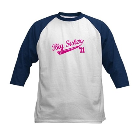 big sister t-shirts '11 Kids Baseball Jersey