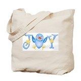Joy: Bluebird Tote Bag
