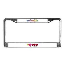 I-L-Y Mom License Plate Frame