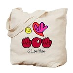 I-L-Y Mom Tote Bag