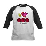 I-L-Y Mom Kids Baseball Jersey
