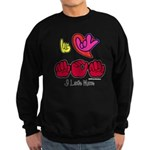 I-L-Y Mom Sweatshirt (dark)
