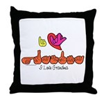 I-L-Y Grandma Throw Pillow