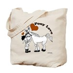 Pony Love Tote Bag