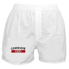 Cornhole King Boxer Shorts