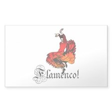 Flamenco Dancer Decal