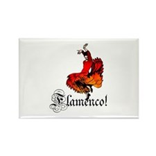 Flamenco Dancer Rectangle Magnet (100 pack)