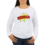 Cornhole Boom Women's Long Sleeve T-Shirt