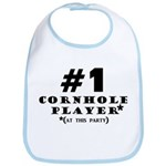 #1 Cornhole Player Bib