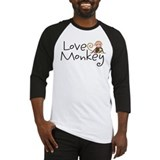 Love Monkey Baseball Jersey