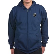 Cute Wow alliance Zip Hoodie