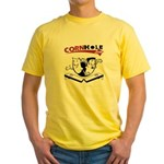 Cornhole Guys Yellow T-Shirt