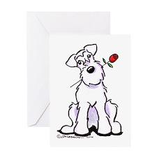 Schnauzer Sweetheart Greeting Card