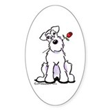 Schnauzer Sweetheart Decal