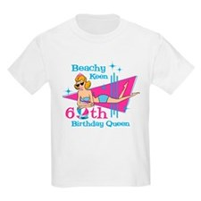Beachy Keen 60th Birthday T-Shirt