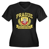 Prague Czech Republic Women's Plus Size V-Neck Dar