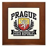Prague Czech Republic Framed Tile