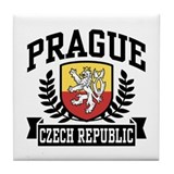 Prague Czech Republic Tile Coaster